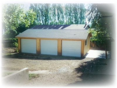 Pole Framed Garages